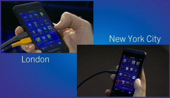 BlackBerry 10 Screen sharing