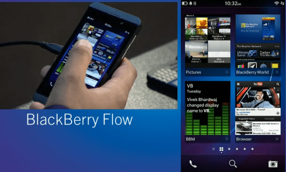 BlackBerry FLow