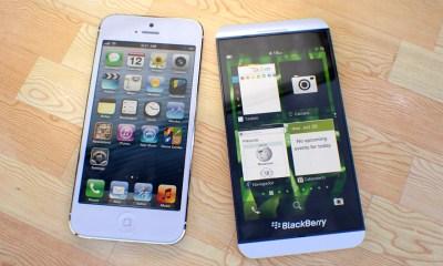 BlackBerry Z10 vs iPhone 5 5 martinhajek