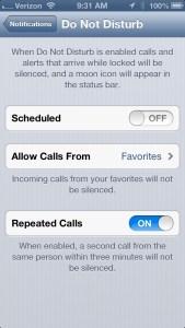 Do Not DIsturb Bug iOS 6 New Year - 3