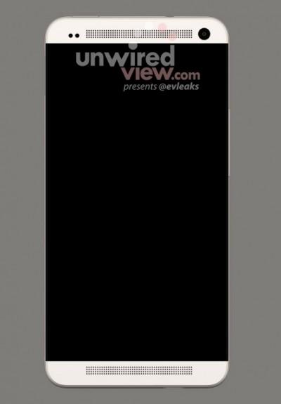 HTC M7 Photo Render