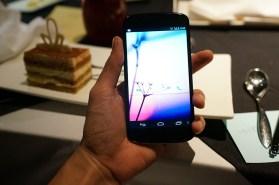 White Nexus 4 front