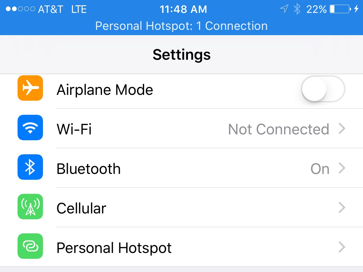How To Use Your Iphone As A Personal Hotspot Over Usb Cable Wiring Diagram Plug