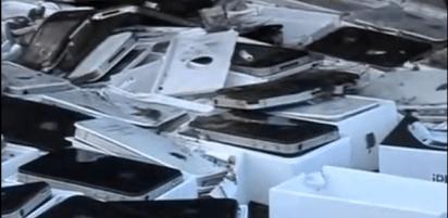 iPhone vs Bulldozer 5