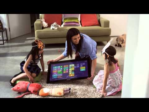 Video thumbnail for youtube video Meet the Horizon, Lenovo's Massive 27-inch All-in-One