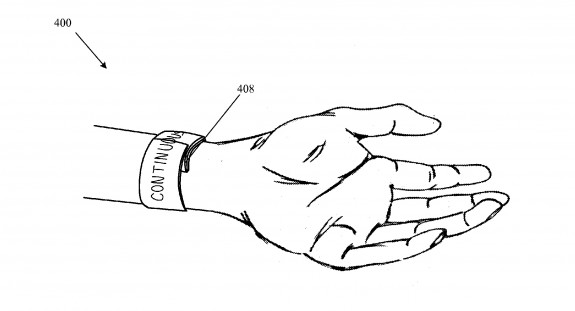 How the Apple iWatch could look based on Apple R & D.