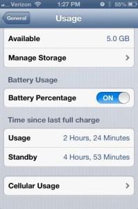 Bad iOS 6.1 battery life fix in iOS 6.1.1