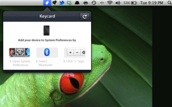 Configure Keycard