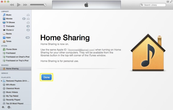 Home Sharing Complete (Mac)