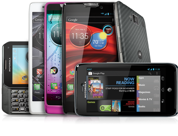 Get $50 In Google Play Credit with Motorola Android Phones