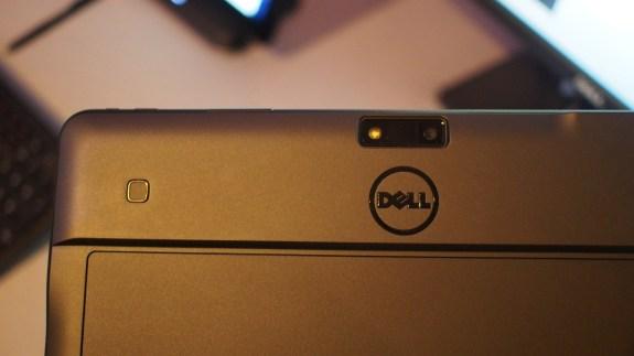 Fingerprint reader on rear