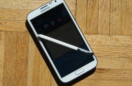The Galaxy Note 2 uses a unique stylus called the S-Pen.