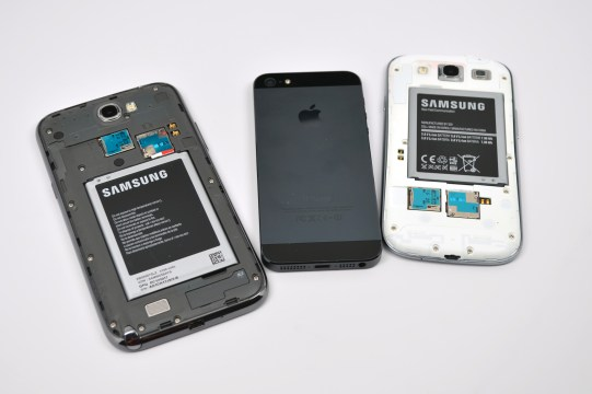 The Galaxy S4 will battle the iPhone 5 in the months ahead.