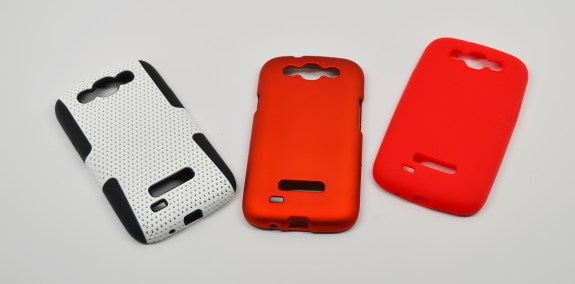 Three Cheap Galaxy S4 cases from China.
