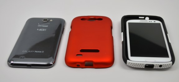 These Galaxy S4 cases are too thick to match up with a flagship phone in 2013.