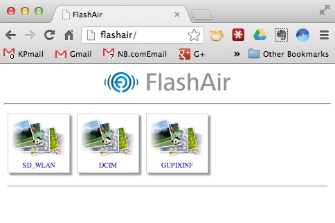 flashair-web