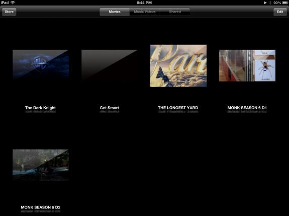 iPad Videos Home (iPad)