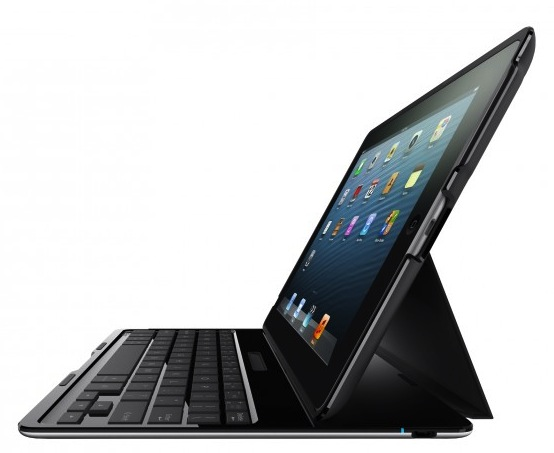 Belkin claims the super thin Belkin Ultimate iPad keyboard case delivers a laptop style typing experience.