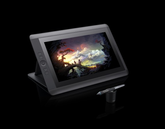 Cintiq 13HD Left View