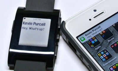 pebble text notification