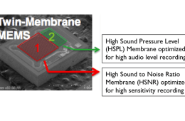The HTC One's dual membrane microphone could prove useful to concertgoers.