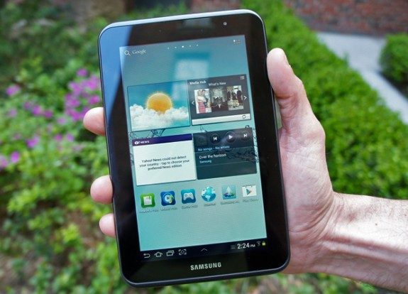 The Galaxy Tab 2 10.1 and 7.0 on Verizon are receiving Jelly Bean today.