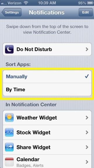 Sort Apps