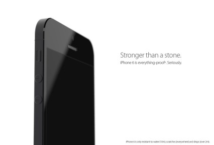 A rugged, waterproof iPhone 6 concept.