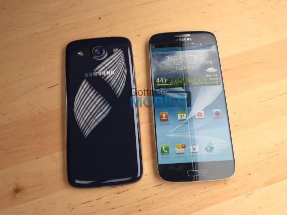A Samsung Galaxy S4 concept.