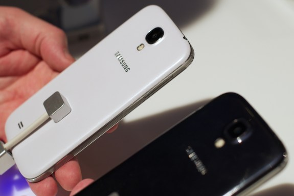 The Samsung Galaxy S4 pricing is cheaper than the iPhone 5 off contract.