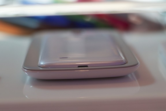 The Galaxy S4 will use the Qi standard of wireless charging.