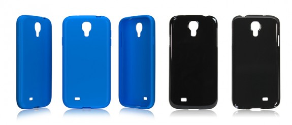 Alleged Samsung Galaxy S4 cases appear online ahead of the Galaxy S4 announcement.