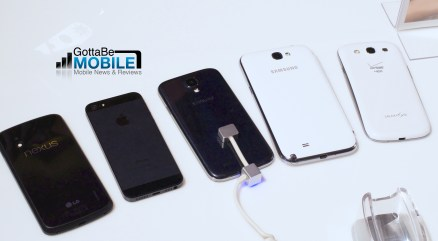 Samsung Galaxy S4 vs Galaxy note 2 vs. Galaxy S3 vs. iPhone 5 vs. Nexus 4 - The Galaxy S4 next to the top smartphones, though not the HTC One.