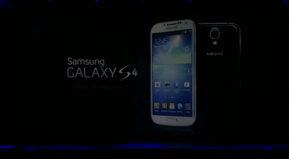 The Samsung Galaxy S4 will be released at the end of April for some carriers.
