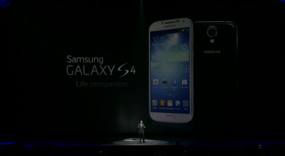 The Galaxy S3 will evidently get Galaxy S4 software features at a later date.