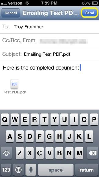 Send PDF