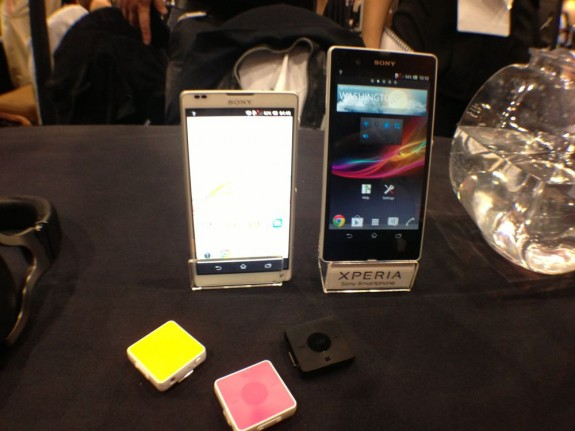The Sony Xperia Z features a 1080p display.