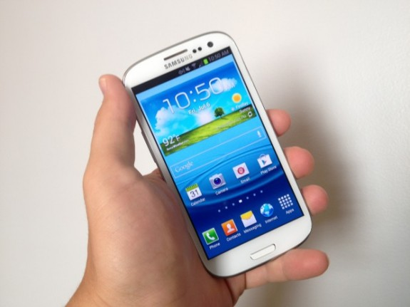 The Galaxy S3 didn't feature wireless charging but the Galaxy S4 might.