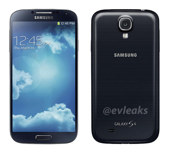 This is how the Samsung Galaxy S4 will be branded.