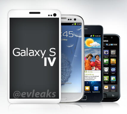 Could this be the Samsung Galaxy S4?