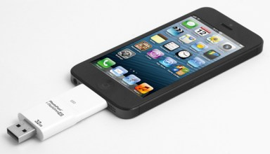 i-flashdrive and iphone