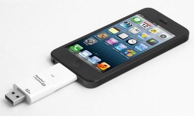 i-flashdrive and iphone
