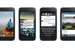 Facebook Home smartphone screens