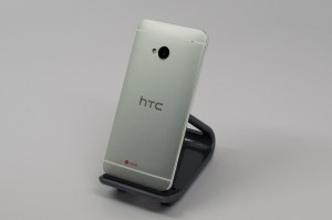 The HTC One features an all metal design that is solid and great-looking.