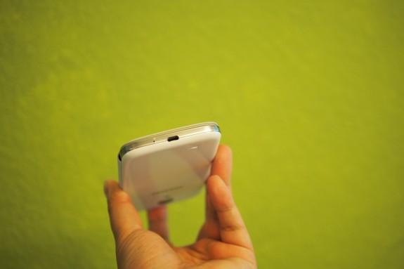 Micro USB port on the bottom