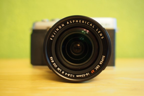 Kit zoom lens offers surprisingly good performance with sharp images, bokeh, and fast aperture ranges.