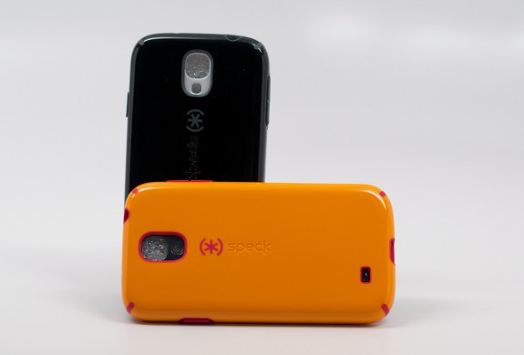 The Speck Samsung Galaxy S4 cases. These are the CandyShell version.