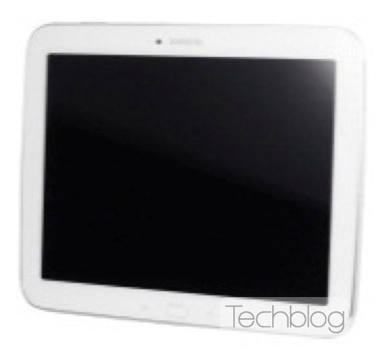A leaked picture of the Samsung Galaxy Tab 3