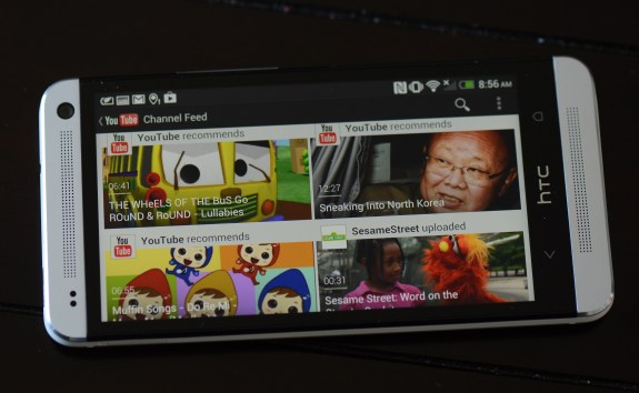 HTC One: Recognizes Google Accounts Across All Google Apps, Such as YouTube