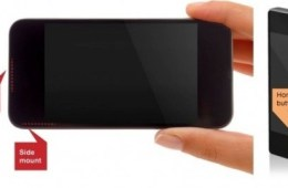 One example of how an iPhone 5S fingerprint reader could look.